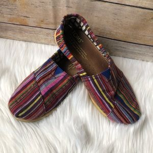 Girl's TOMS Boho Slip-on Shoes, Size 1.5